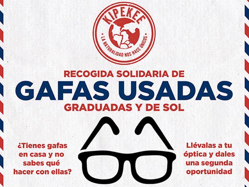 Proyecto Recogida solidaria de gafas usadas graduadas y de sol